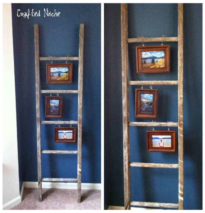 Lipstick & Bowties: I Can Do A REPURPOSED LADDER By Tasha
