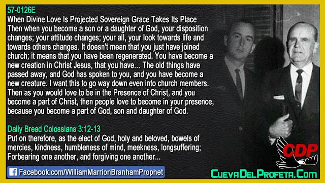 How to be part of Christ - William Branham Quotes