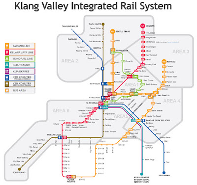 lrt maps kuala lumpur, mrt maps klang valley kuala lumpur, public transport maps kuala lumpur