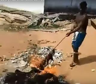 VÍDEO - Detentos fazem churrasco de carne humana em presidio de Alcaçuz no RN