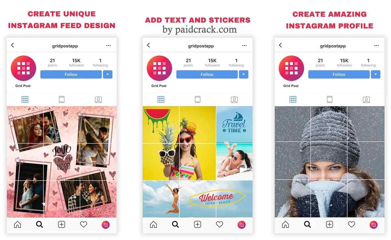 Grid Post - Photo Grid Maker for Instagram Pro Mod Apk 1.0.12