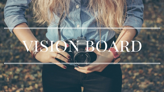 ☼ VISION BOARD - kreatywna mapa marzeń ☼