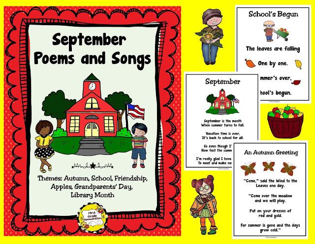 First Grade Bloomabilities: A Few Freebie Reminders