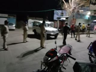 बेवजह घूमने वालो पर सादलपुर पुलिस हुई सख्त