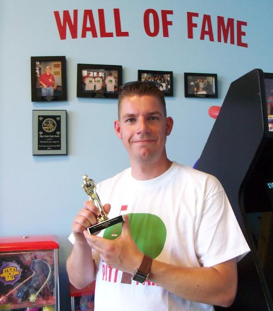 Richard Gottfried - winner of The Putt Park's Annual Mini-Golf Tournament Las Vegas