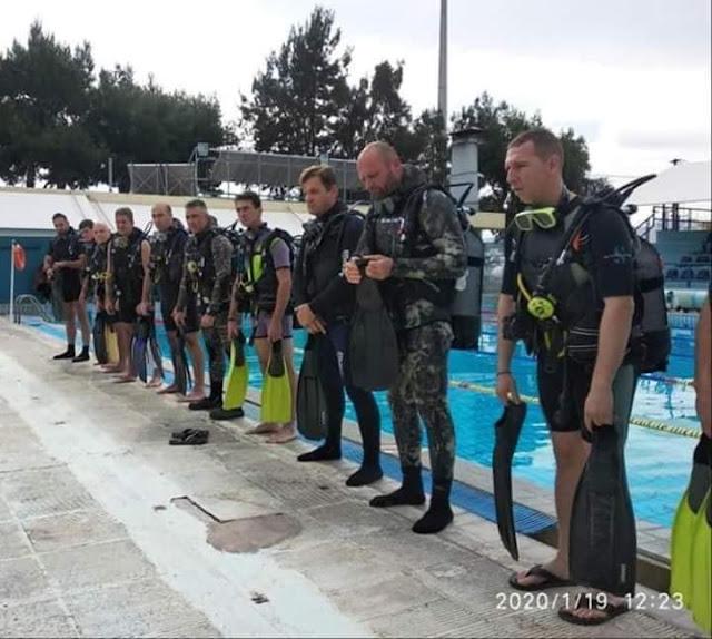 Ο Σύλλογος Εφέδρων Πελοποννήσου συμμετείχε στο IDAFK - 1ο Σχολείο αυτοδυτών
