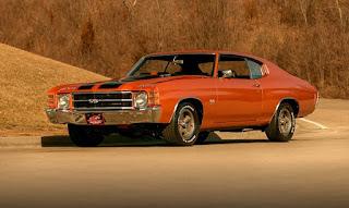 1971 Chevrolet Chevelle Malibu SS Front Left