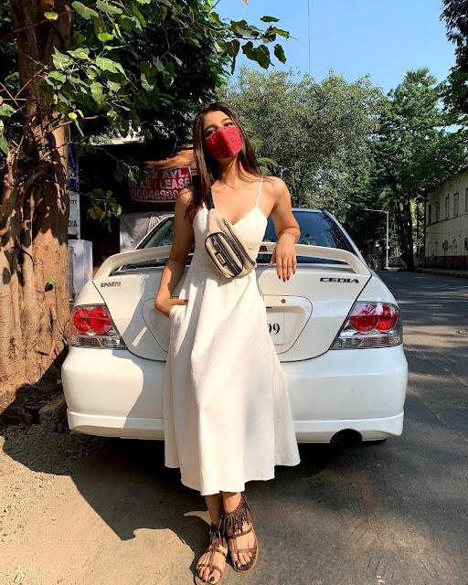 Actress Natasha Bharadwaj Latest Photoshoot Stills in White Dress Actress Trend