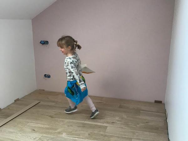 Chambre d'enfant : la peinture #travaux