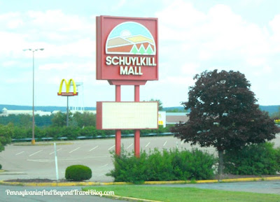 Shopping at the Schuylkill Mall in Frackville