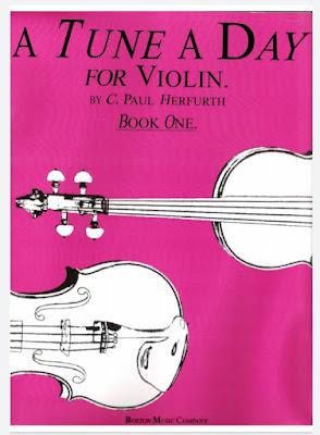 تحميل كتاب تعلم الة الكمان | A Tune a Day - 1