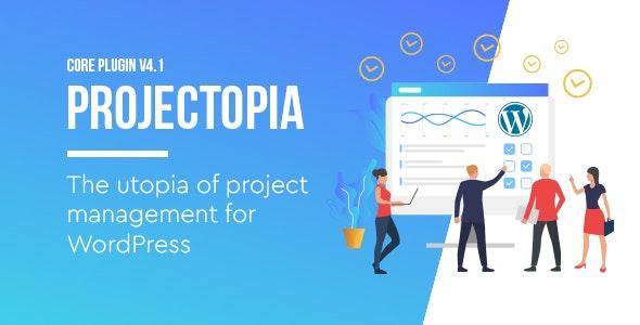 Projectopia v4.3.3 - WordPress Project Management Plugin