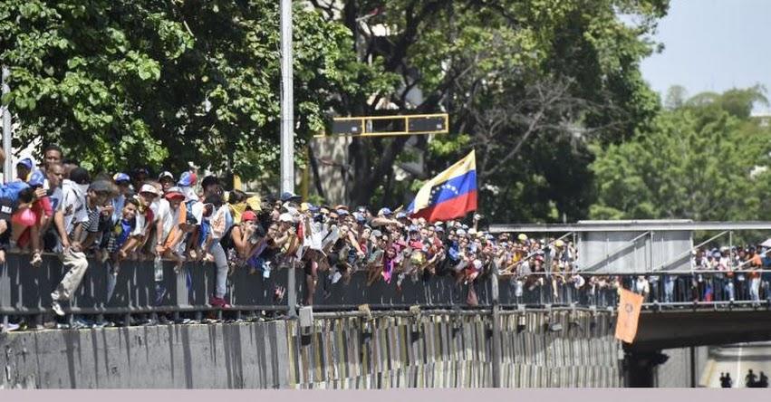 VENEZUELA: Caracas vive nueva jornada de disturbios en protesta contra Maduro