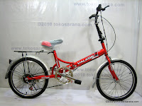 A 20 Inch Viva Valkon 6 Speed Folding Bike