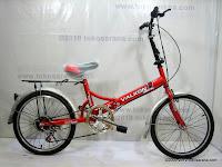 A 20 Inch Viva Valkon 6 Speed Folding Bike