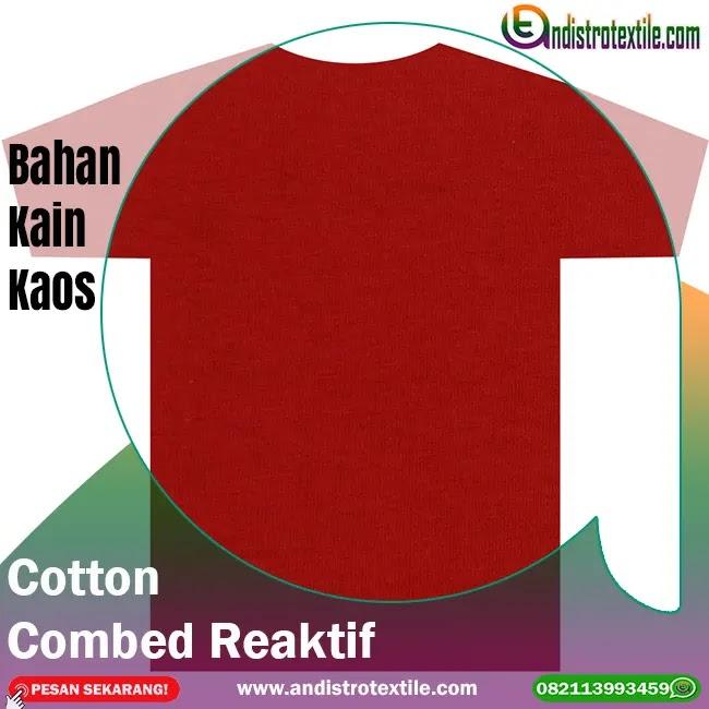 Gudang Bahan Kaos Combed 30s Tasikmalaya