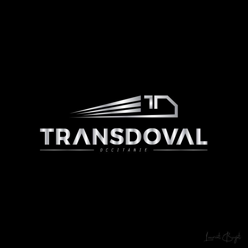 logo luxe métallisé transporteur