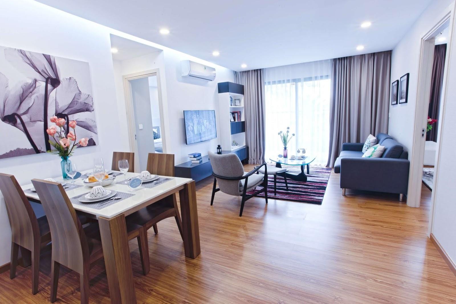 Nên lựa chọn căn hộ có tài chính phù hợp.