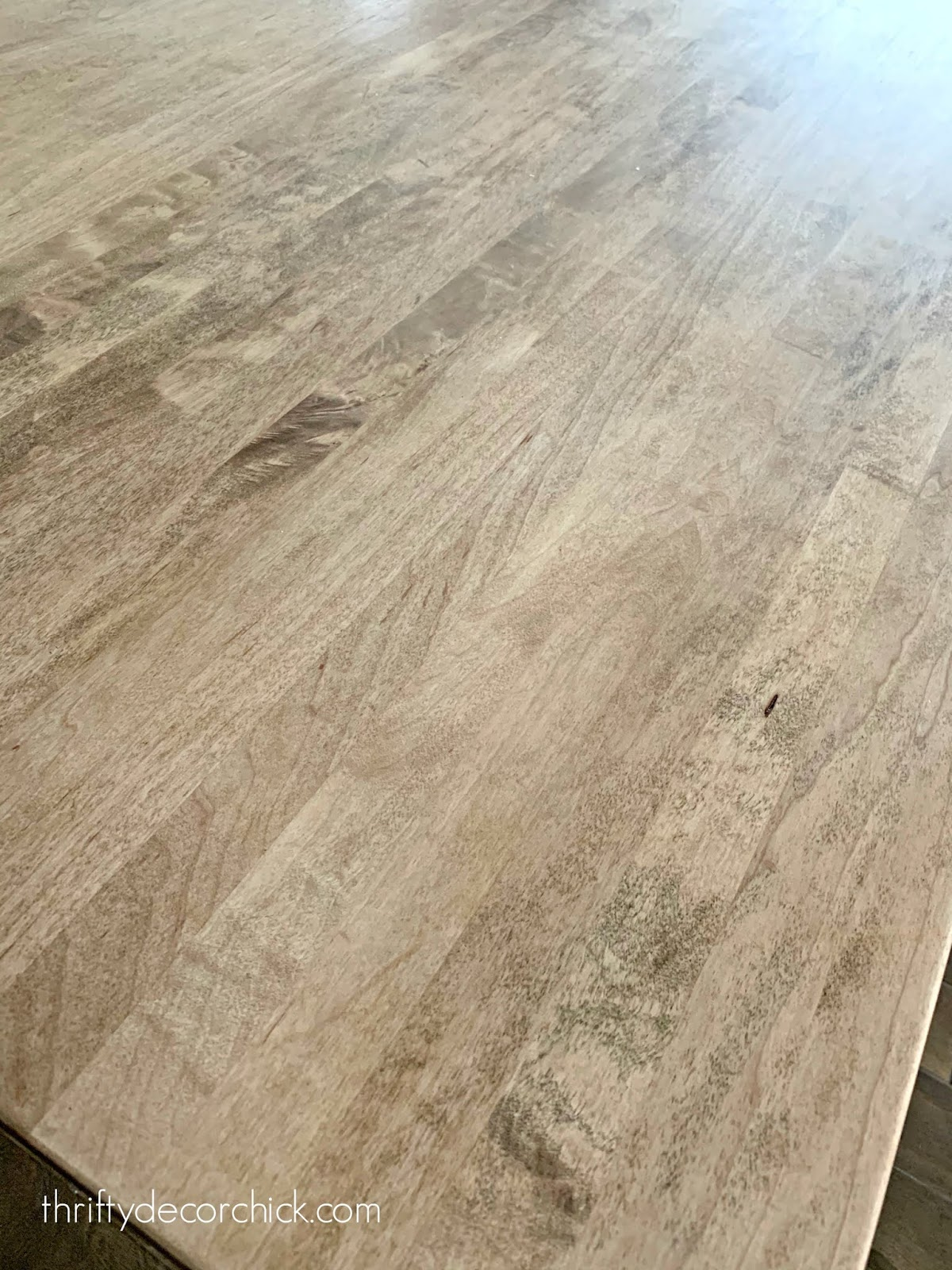 How to protect butcher block countertops