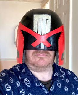 3D Printed Judge Dredd Helmet