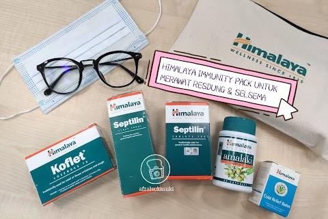 Himalaya Immunity Pack Untuk Merawat Penyakit Resdung, Selsema dan Immunity Booster
