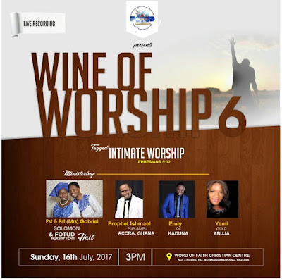 Fellowship of the Undefiled Presents: Wine of Worship 6