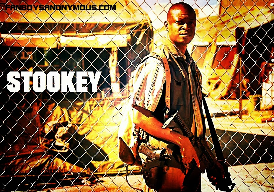 Walking Dead Bob Stookey alcoholic medic actor Lawrence Gilliard Jr