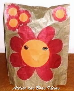 reciclagem com papel