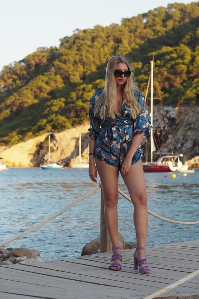 missguided kimono playsuit fashion blog