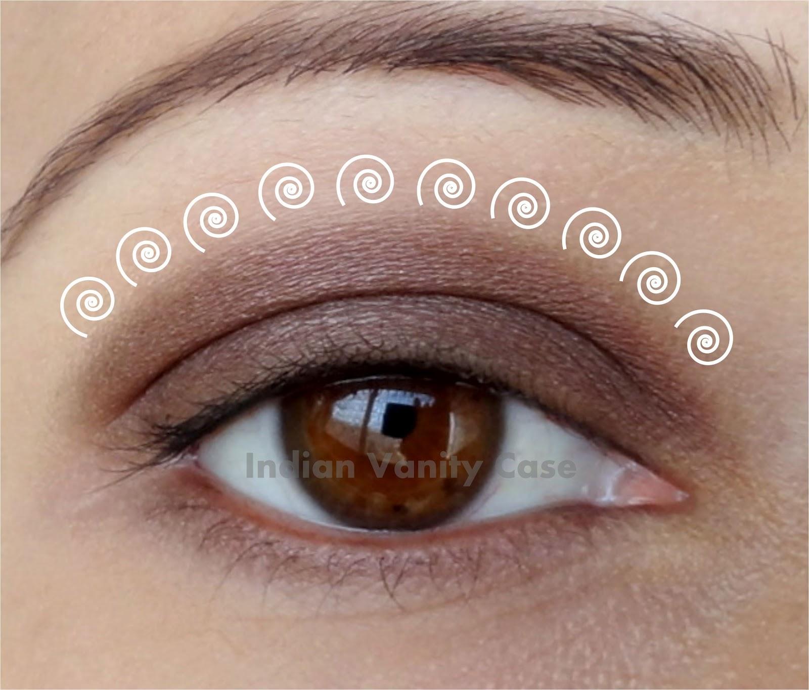 Tips On Blending Great Colors With Beige: Indian Vanity Case: Basic Eyeshadow Blending Tutorial & Tips