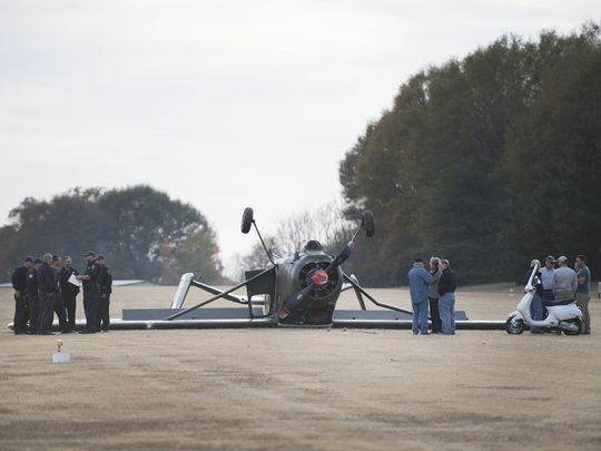 Kathryn's Report: Broussard MH 1521, N315XC: Accident