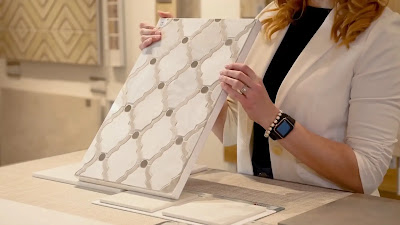 marble mosaic for smaller spaces