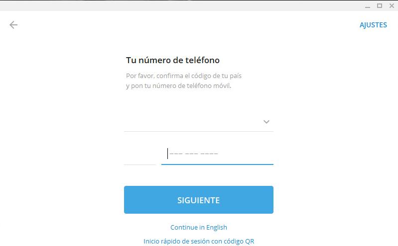 telegram para pc