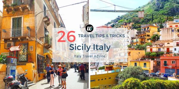 26 useful Sicily travel tips and tricks | Italy travel advice | wayamaya