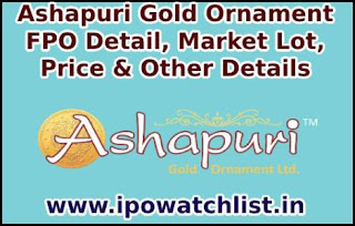 Ashapuri Gold Ornament FPO