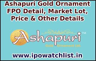 Ashapuri Gold Ornament FPO