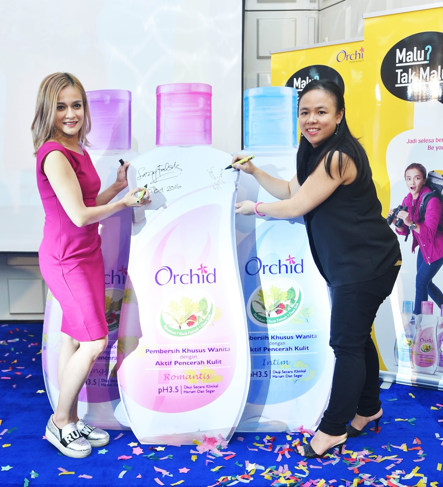 Orchid Introduces Sazzy Falak As Brand Ambassador Kick Starts Feminine Empowerment Campaign Malu