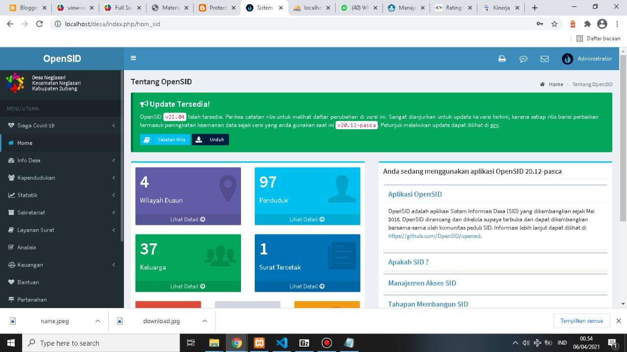 Aplikasi OpenSID Desa