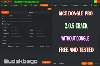MCT Dongle Pro 2.0.5 Crack Without Dongle Free and Tested