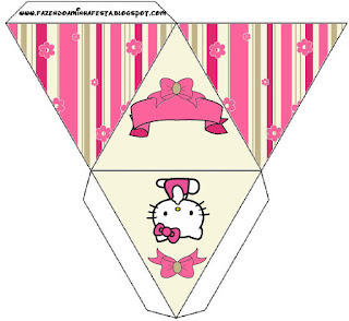 hello kitty with flowers: free printable boxes. - oh my fiesta in english