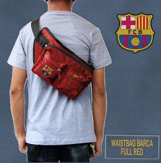 tas pinggang barcelona