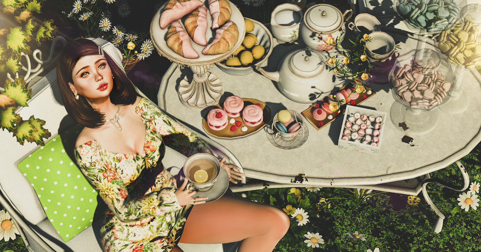 Marie's Tea Party
