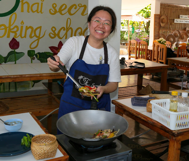 Thai Secret Cooking School & Organic Garden. 18 December 2019