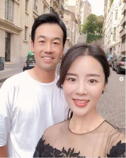 Kevin Na With His Wife Julianne Na