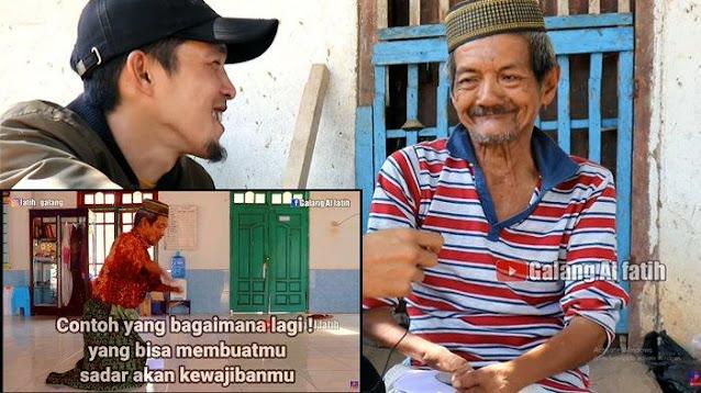 Masha Allah, Video Pria Tak Punya Tangan dan Kaki Sempurna, Tetap Rajin Salat dalam Keterbatasan