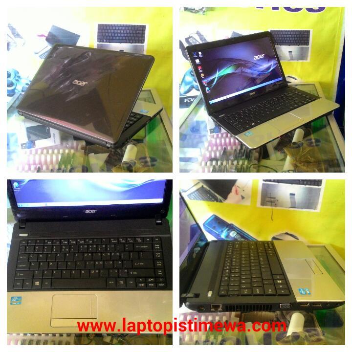 LAPTOP ACER E1 431 INTEL CORE I3 RAM 2GB HARDISK 320GB