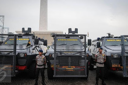 Tanpa Senjata, Aparat Keamanan Tiba di Lokasi Demo 2 Desember