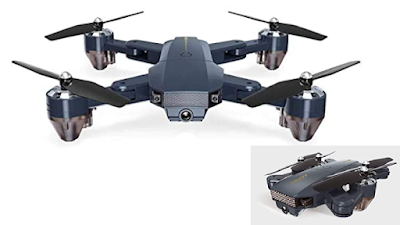 Octra Foldable GPS FPV Drone with GPS Return Home, Gesture Control, Auto Hover & 5G Wifi Transmission
