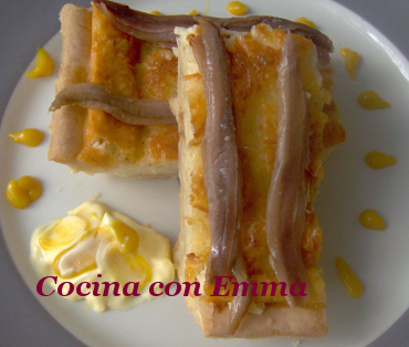 Quiche de queso con anchoas del Cantábrico_1