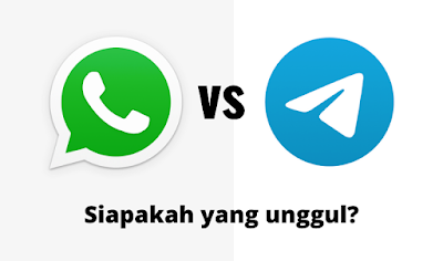 whatsapp dan telegram